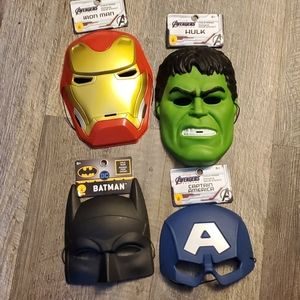 Youth masks Hulk Batman Ironman Captain america